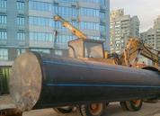 Продавливание стальных труб и футляров